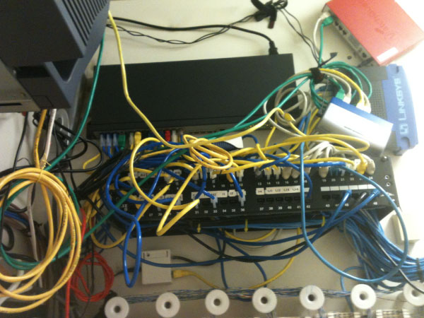 Before CCC Networks Inc. Telecommunications Network Installation